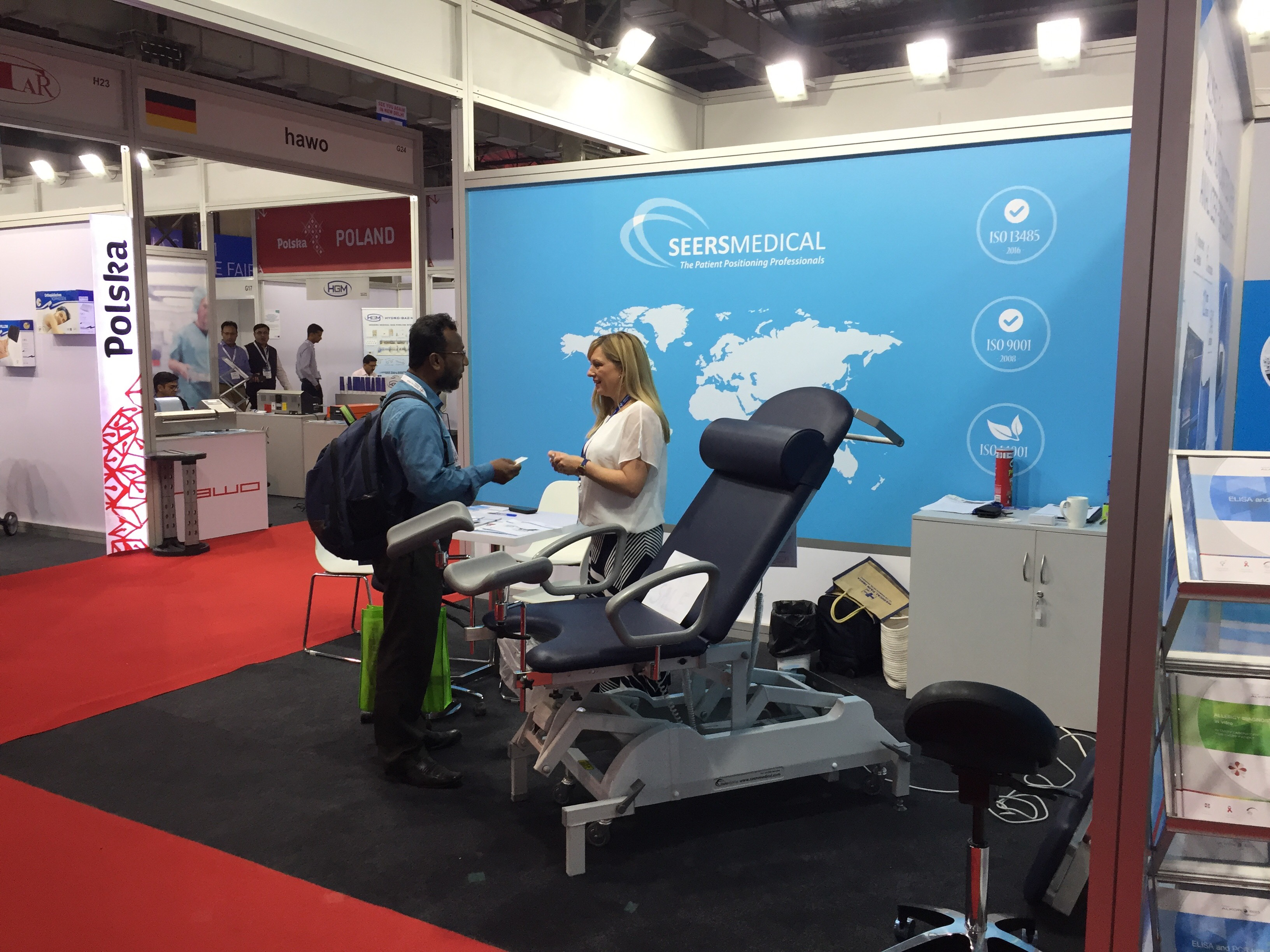 Medical Fair India - Stand