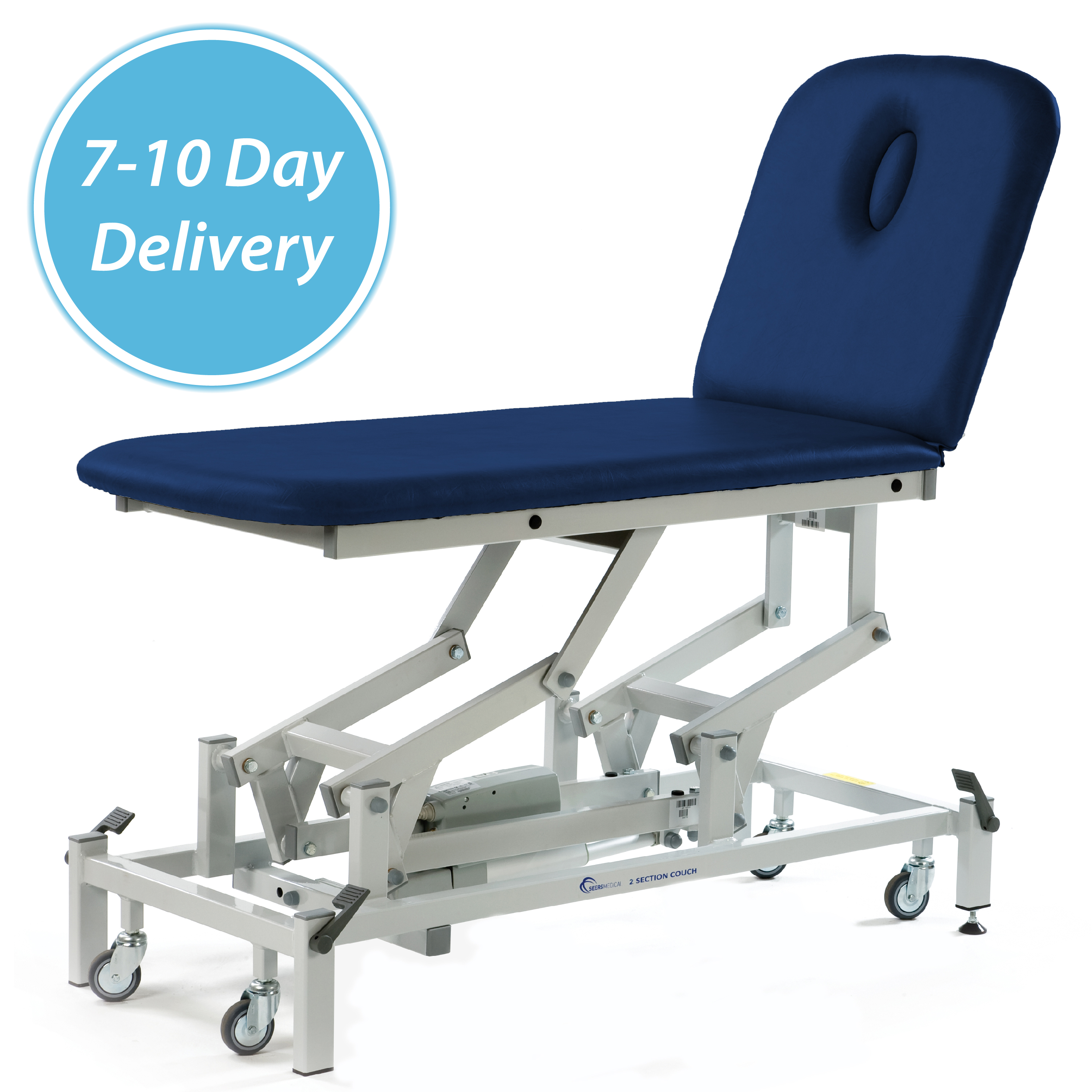 7 10 Day Lead Time 2 Section Couch Seers Medical The Leading Uk Couch Manufacturer